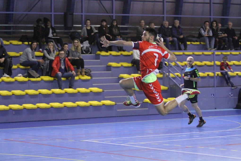 Ce samedi soir, Vénissieux Handball a laissé passer la chance de recoller au trio de tête de leur poule de N2.