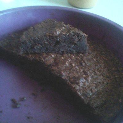 Gâteau chocolat avec courgette