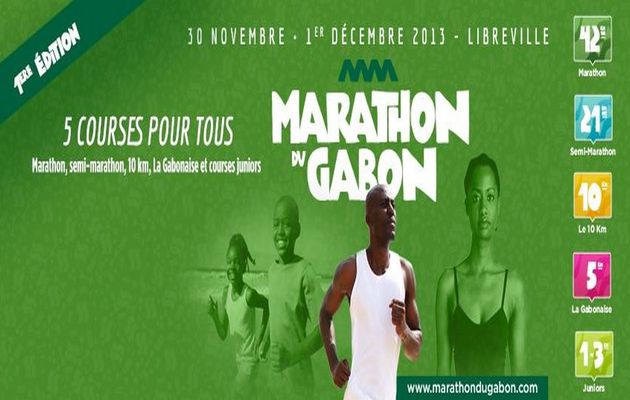 Le 1er Marathon international du Gabon
