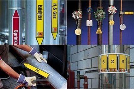 Rohrmarkierer und Rohrmarkierungen nach DIN 2403 und EU-Richtlinien