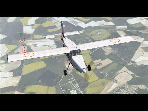 Largage parachutistes à Mazères...