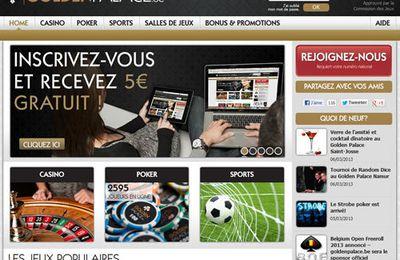 BetConstruct fournit désormais la plate-forme de paris en ligne au site licencié en Belgique GoldenPalace.be