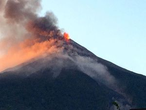 Fuego - 20.11.2016 - pictures Conred - a click to enlarge