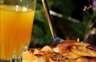 Clafoutis au melon et miel
