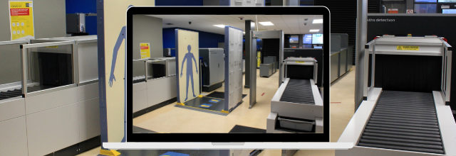 Ireland's first Quick Personnel Security (QPS) scanner at Kerry Airport