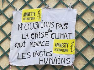 24 avril, Amnesty Île de France Sud-Ouest mobilisé pour le Climat et les Droits Humains !