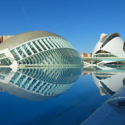 La Cité des Arts et des Sciences de València.