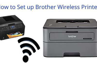 How to Connect the Brother wireless printer to WiFi?