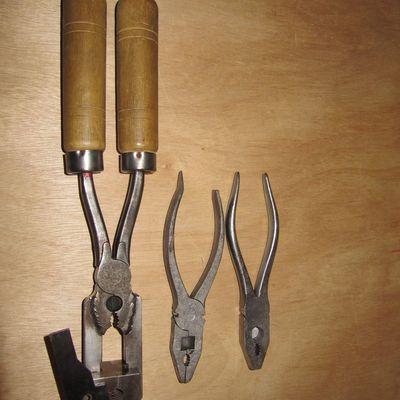 Pince maison pour moule à balles/projectiles