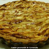 Tarte fondante aux pommes - Cuisine gourmande de Carmencita