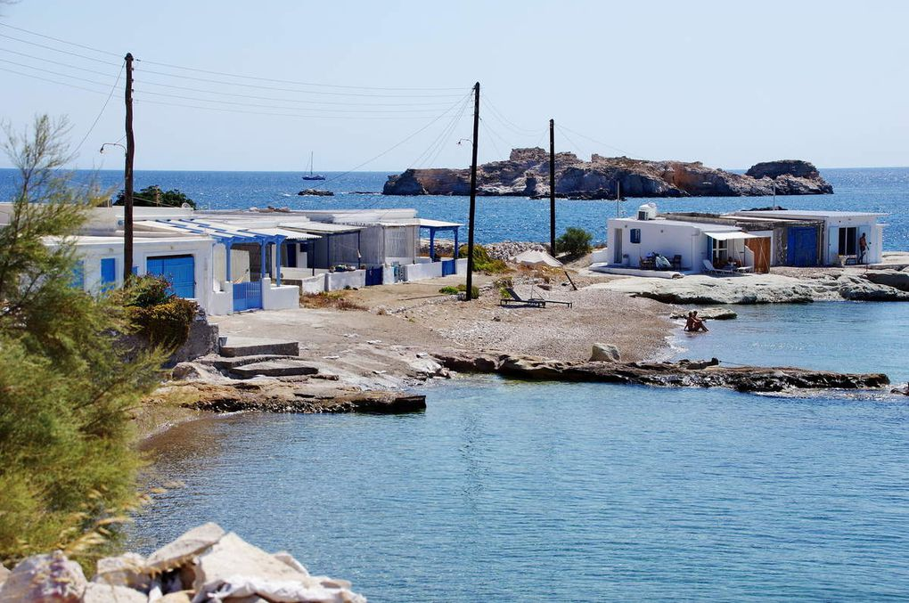 Ile de Kimolos (par le Bac)