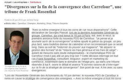 Tribune Libre LSA : divergences sur la fin de la convergence chez Carrefour