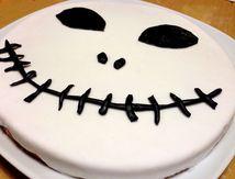Décors en pâte à sucre pour gâteau d'Halloween 2