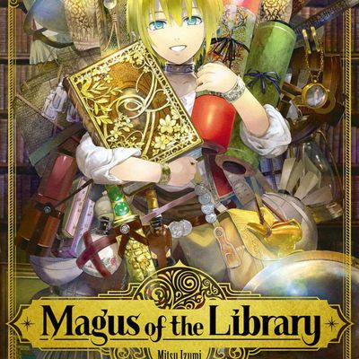 Magus of the library Tomes 1, 2 et 3