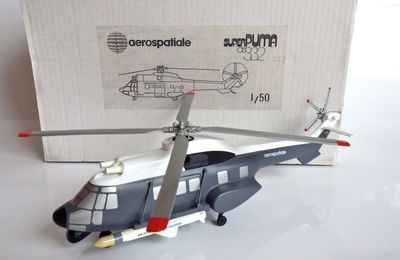 Archives Milinfo (11/09/2015) : Super Puma AS 332 F au 1:50 (par Jérôme Hadacek)