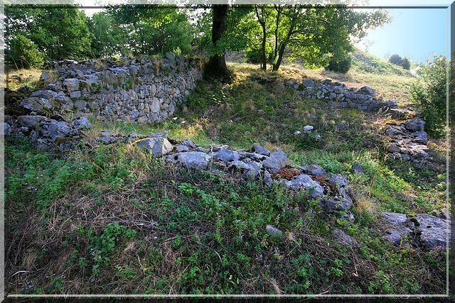 Diaporama château-forteresse de Caumont