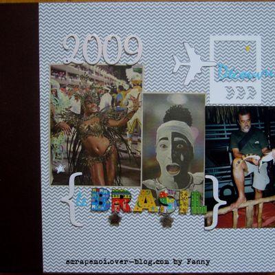 PL détourné en album de voyage sur le Brésil