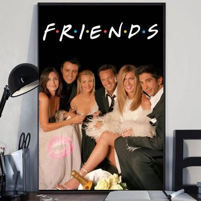 Friends TV Show custome poster canvas