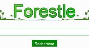 faites vos recherches sur Forestle !