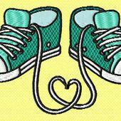baskets cœur