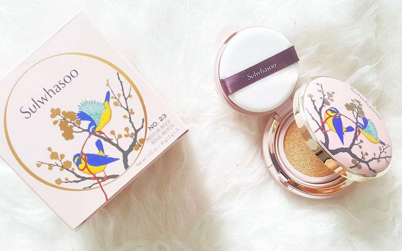 Sulwhasoo Perfecting Cushion - Edition Limitée Golden Birds
