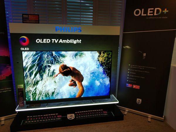 photos - visuels téléviseur Philips OLED+ 903