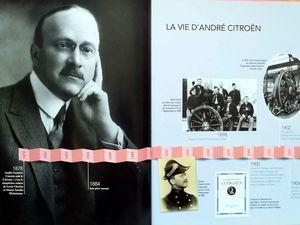 Les grandes étapes de la vie d'André Citroën...