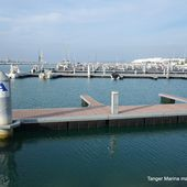 Y a encore de la place pour les bateaux à la Marina de Tanger en mai 2019 - Le blog de Bernard Moutin