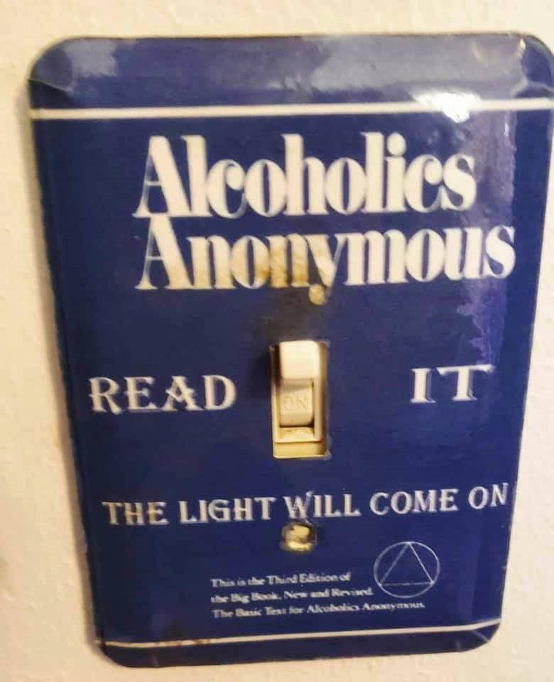 """""""Alcooliques Anonymes"""" Lisez-le La lumière jaillira"""