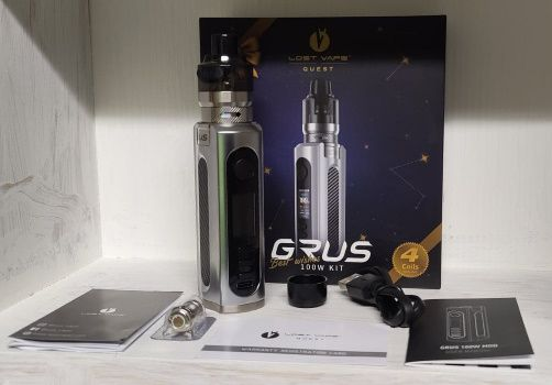 Test - Box - Kit Grus V2 100W de chez Lost Vape