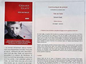 Le Lien, n° 93, octobre 2020. Page d'accueil et en Coin de lecture... Tête de Paille