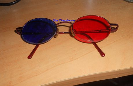 Lunettes anaglyphes !