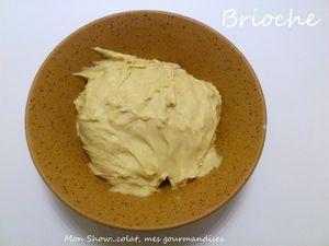 Brioche tressée au fromage blanc (sans MAP)
