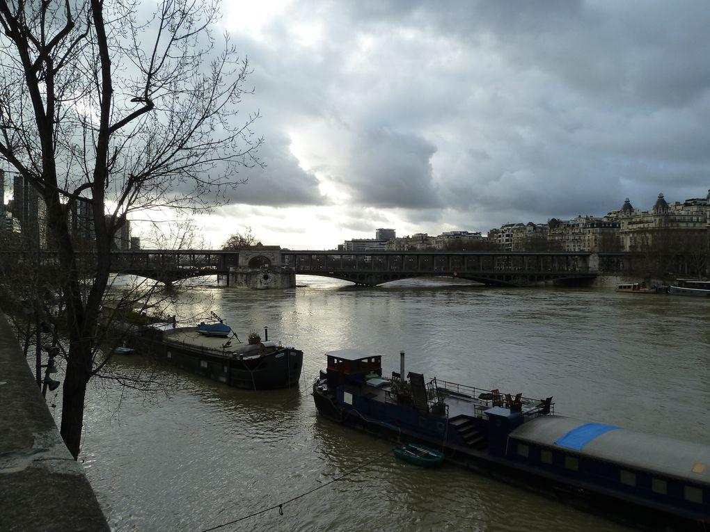 La Seine monte encore...