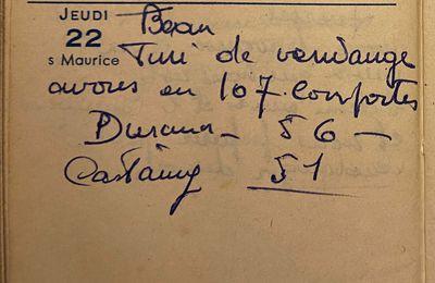 Jeudi 22 septembre 1960 - 107 à partager