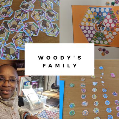 Notre utilisation de l'outil d'organisation Woody's Family