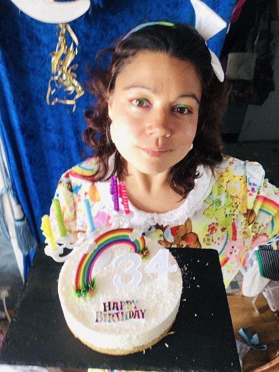 En robe Bisounours à l'occasion de mon anniversaire