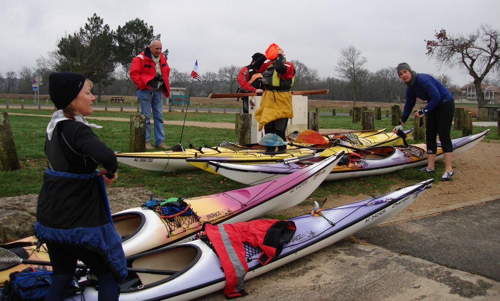 Sortie du Teich au Pyla. 14 Janvier 2012