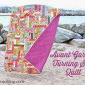 Avant Garden Turning Squares Quilt - Moda Bake Shop