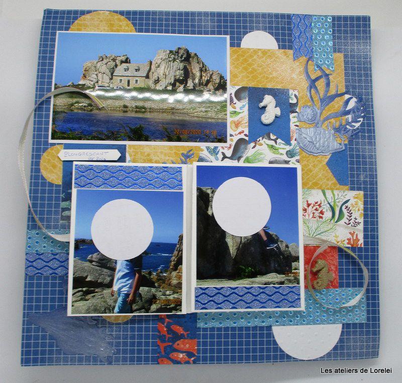 Atelier page avec mini album