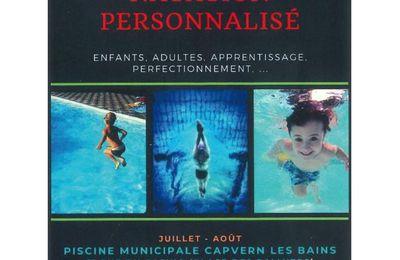 Cours de natation personnalisé à CLB