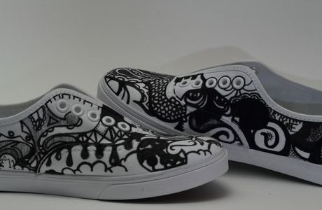 Custom Vans Authentic