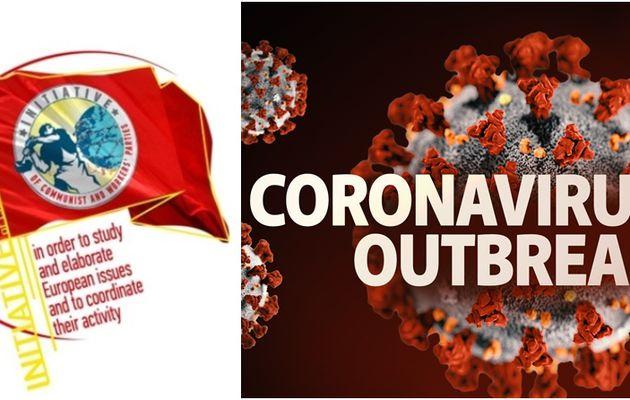 Déclaration de l'Initiative Communiste Européenne sur la crise sanitaire liée au coronavirus