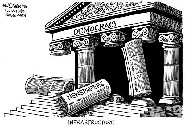 Grillo e la libertà di stampa