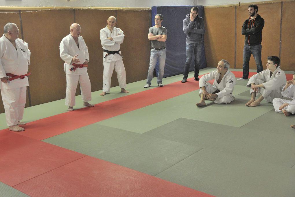Patrick Vial et Serge Feist sur notre tatami....