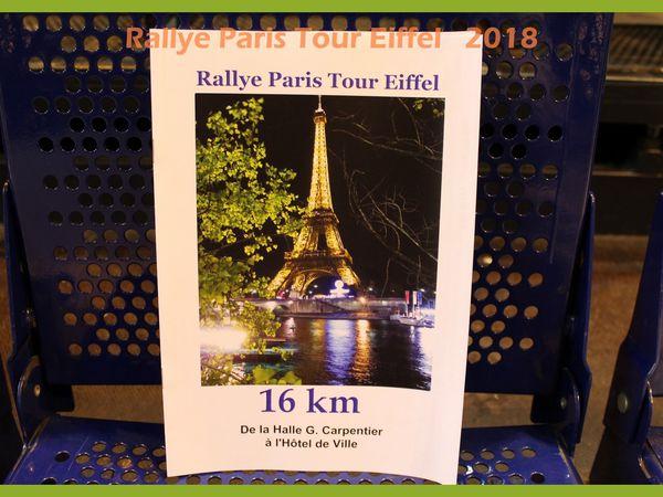 Rallye Paris Tour Eiffel 2018 du Godillot Familial.
