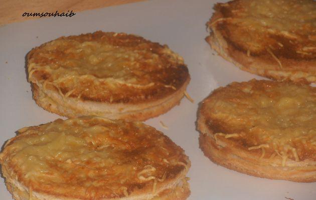 croques-monsieurs au bacon croustillants et moelleux!!