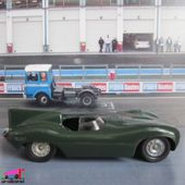 JAGUAR TYPE D LE MANS SOLIDO 1/43 - car-collector