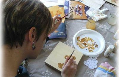 Les nounours en peinture