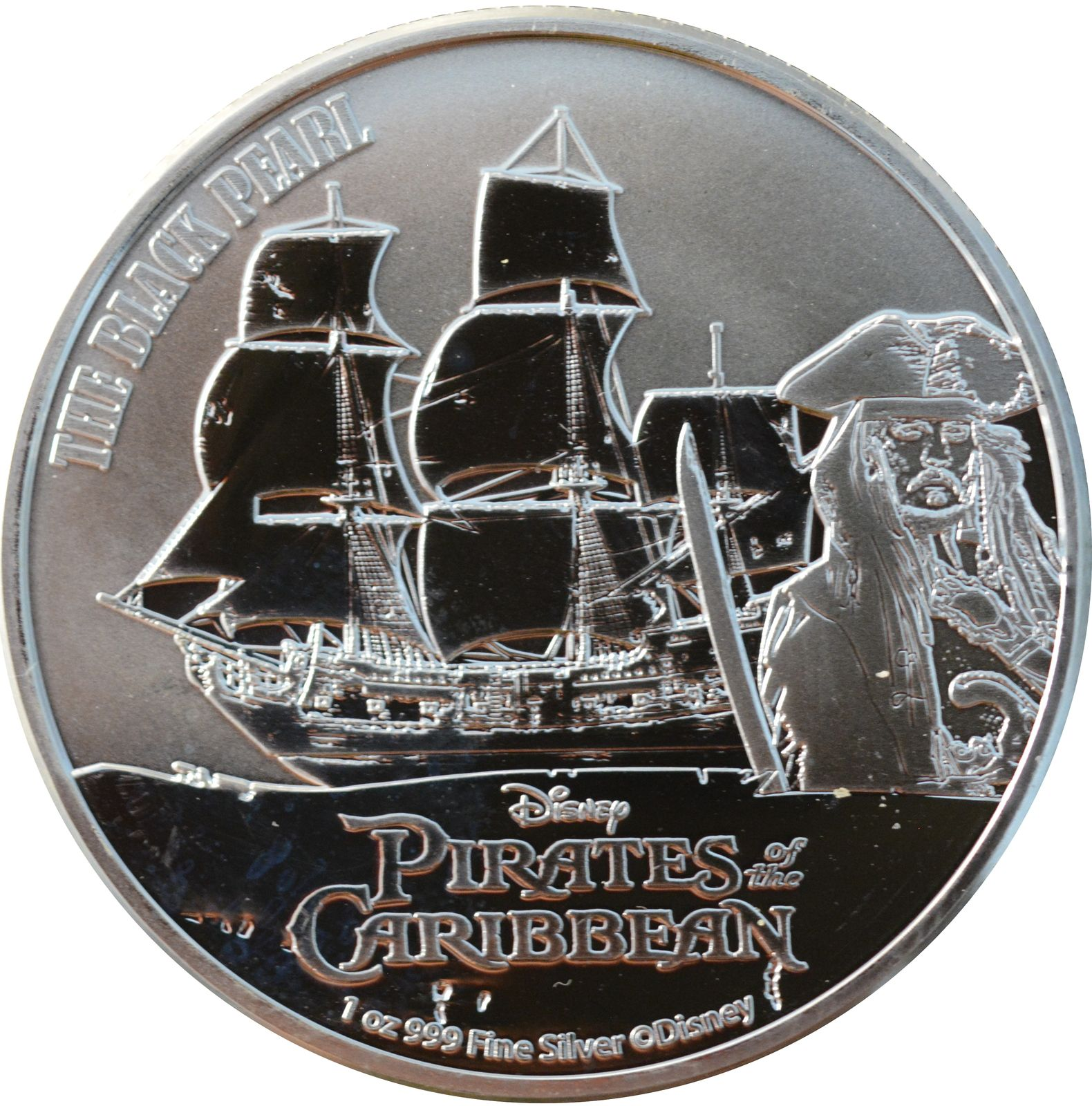2 dollars Pirates of the Carribean: The Black Pearl 2021 Niue